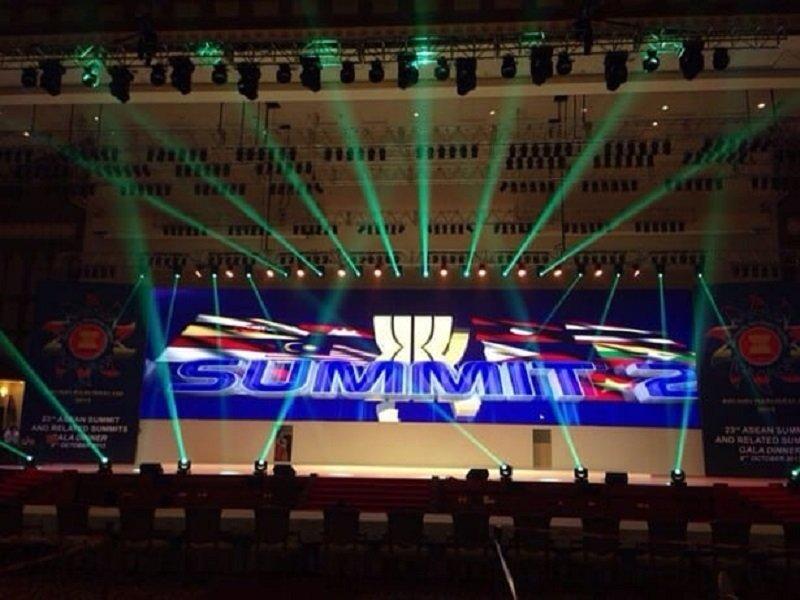 153㎡ P6 Indoor LED Display Screen in ASEAN