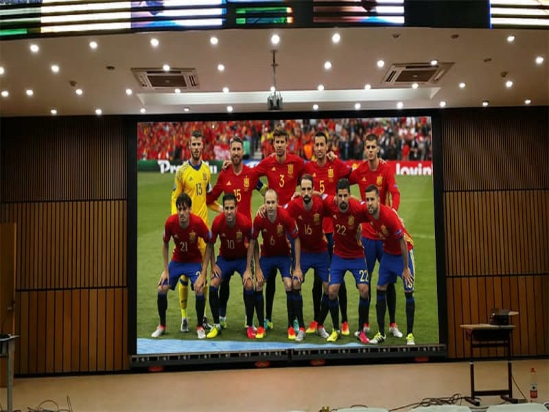 2016 European Cup and Small Pitch LED Display