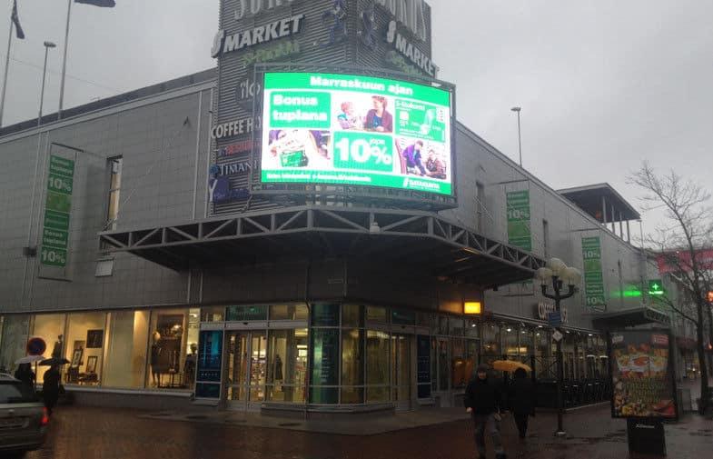 P16 Outdoor Advertising LED Display Billboard