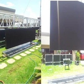 34. Standard Outdoor Rental LED Display in Nigeria