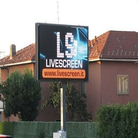 58. P16 Outdoor LED Billboard in Italy