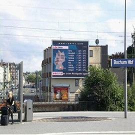 59. Large Video LED Display of P20 in Germany