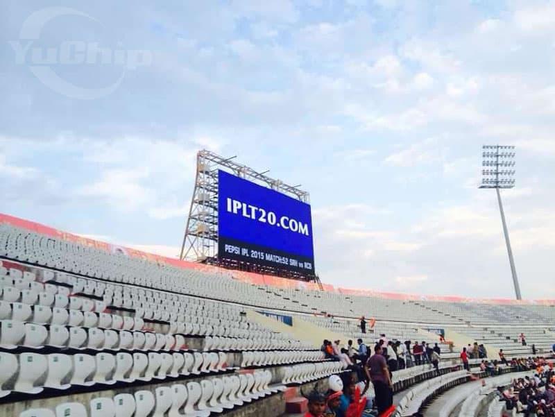 Biggest Stadium LED Display in India for Cricket Stadium