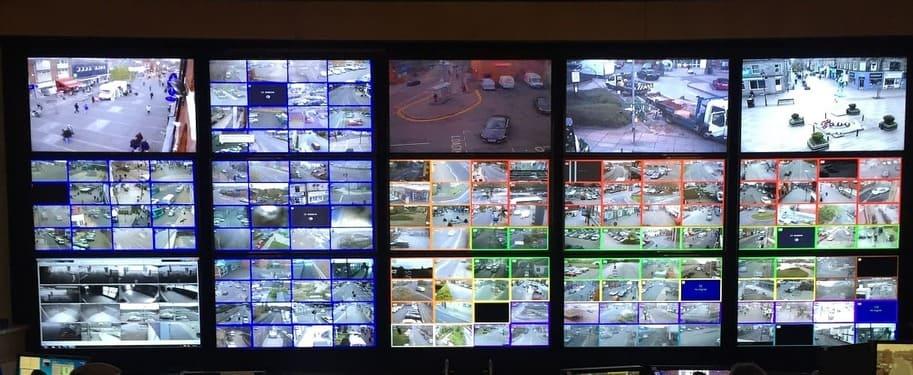 CCTV Control Room Video Wall
