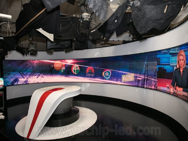 Hungarian-TV-station-P3-Indoor-LED-Display-From-China-YUCHIP