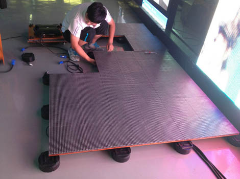 Interactive LED Dance Floor SGI Dubai 2020