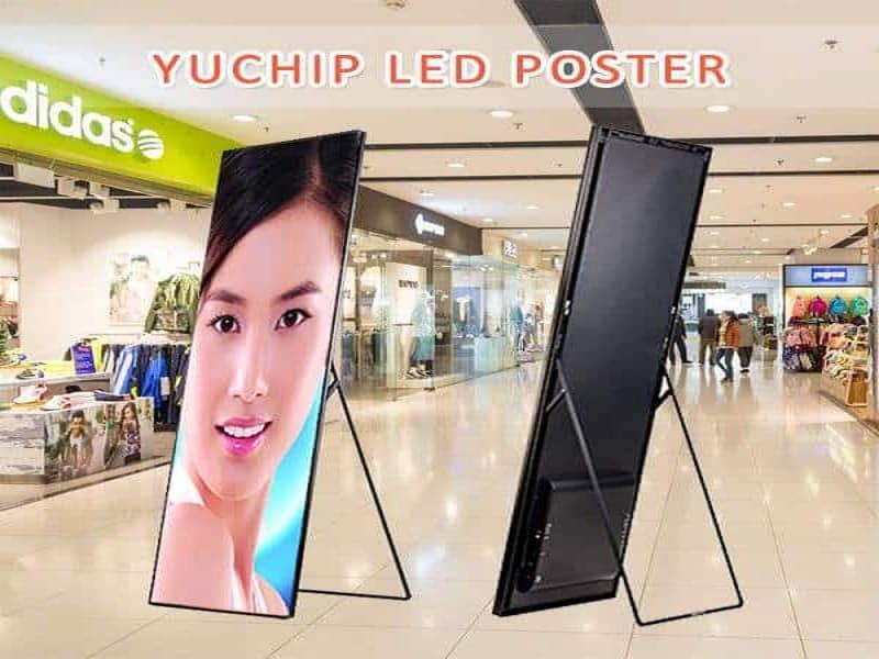 LED Advertising Poster