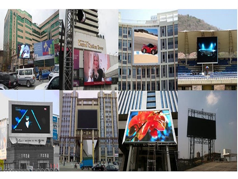 Outdoor Fixed LED Display Advantages