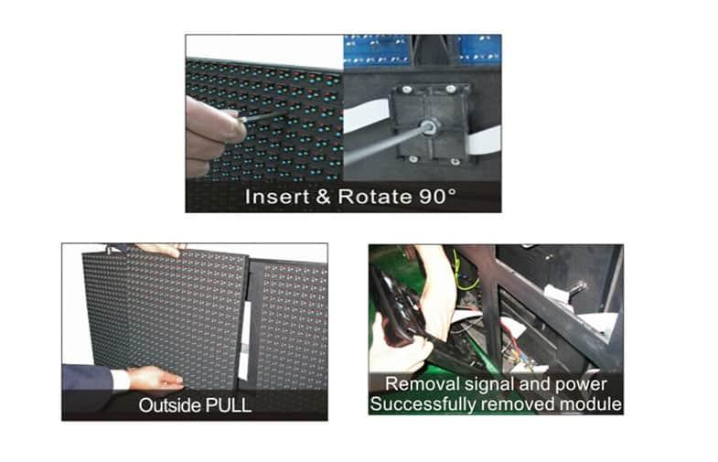 Outdoor P6 Dual Maintenance Led Display