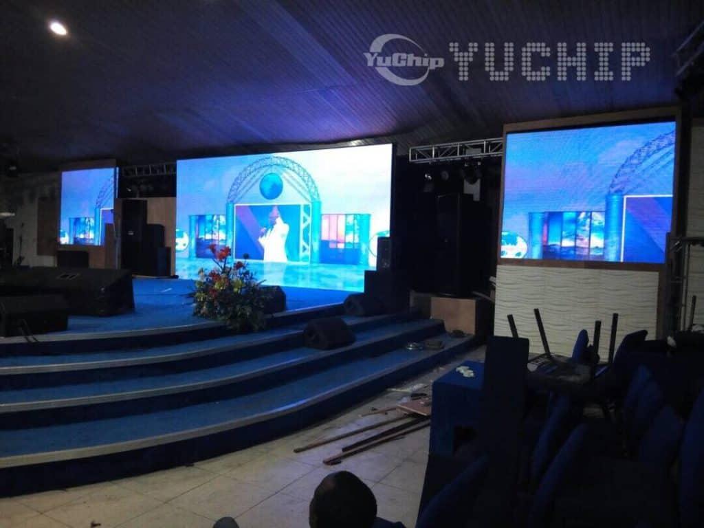 yuchip in church in nigeria