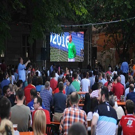 P6.25 Outdoor LED Display Rental In Budapest 20