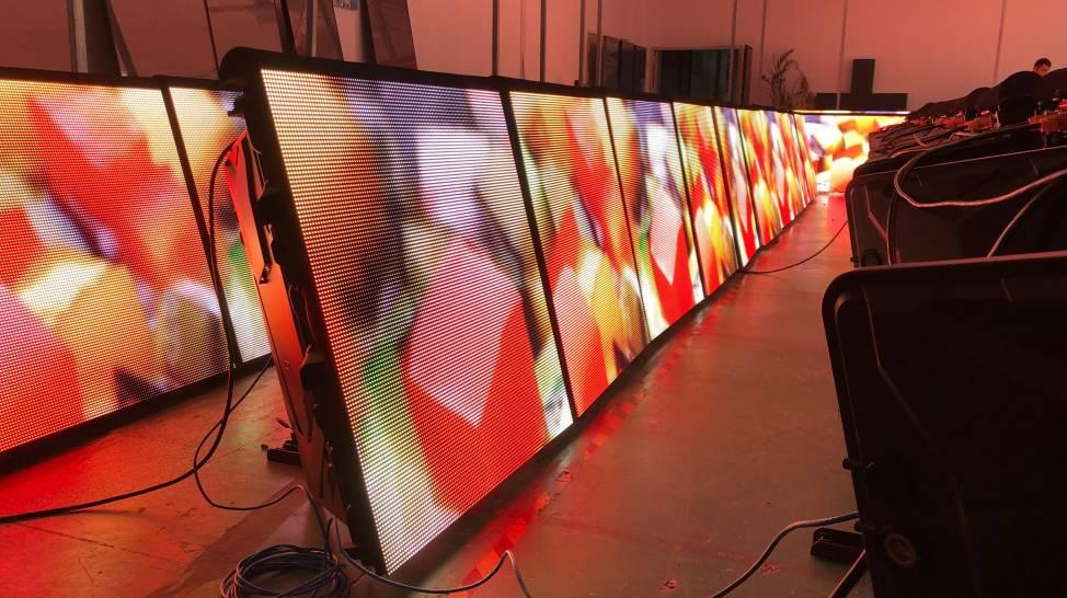 Rental Perimeter LED Display