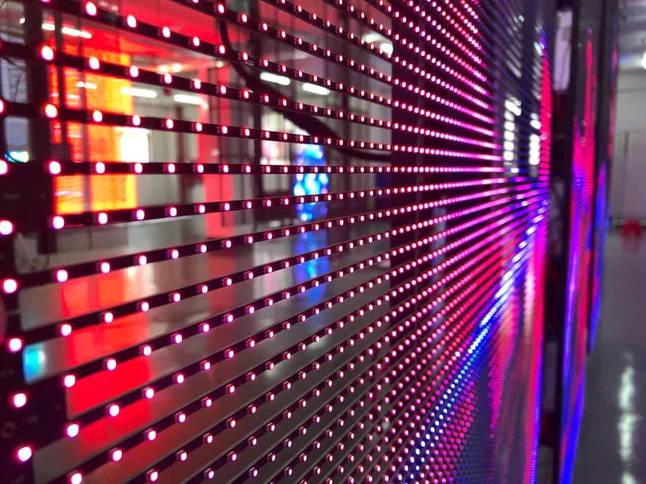 See Through LED Screen