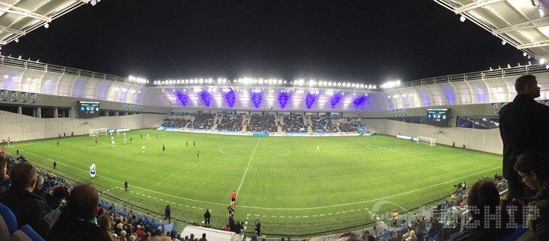 Sports Stadium LED Display In Hungary For Football Stadium