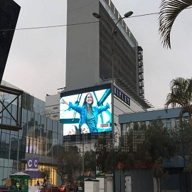 The Biggest Oudoor Advertising LED Screen In south America 11