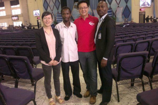YUCHIP Church LED Screen in Nigeria