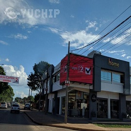 YUCHIP Outdoor Fixed P10 LED Display Shines In Paraguay 5