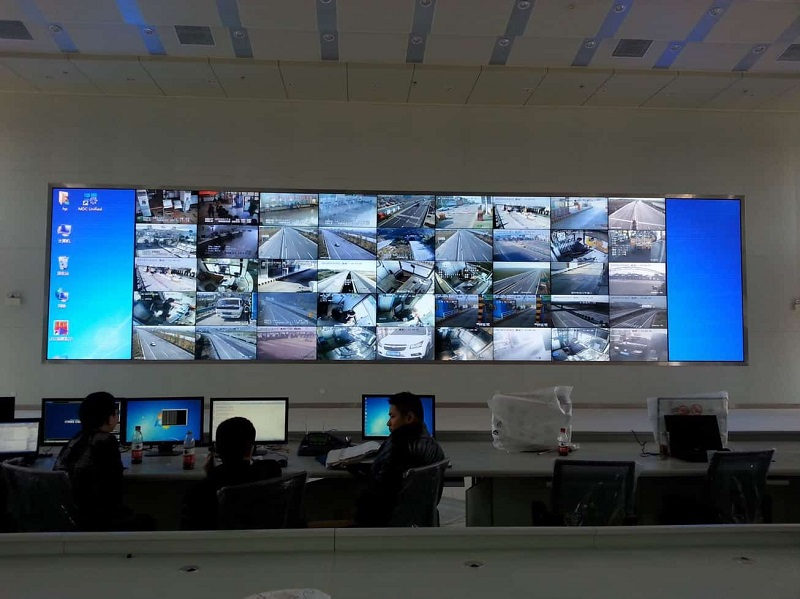 YUCHIP P2 Indoor LED Display for Security Surveillance
