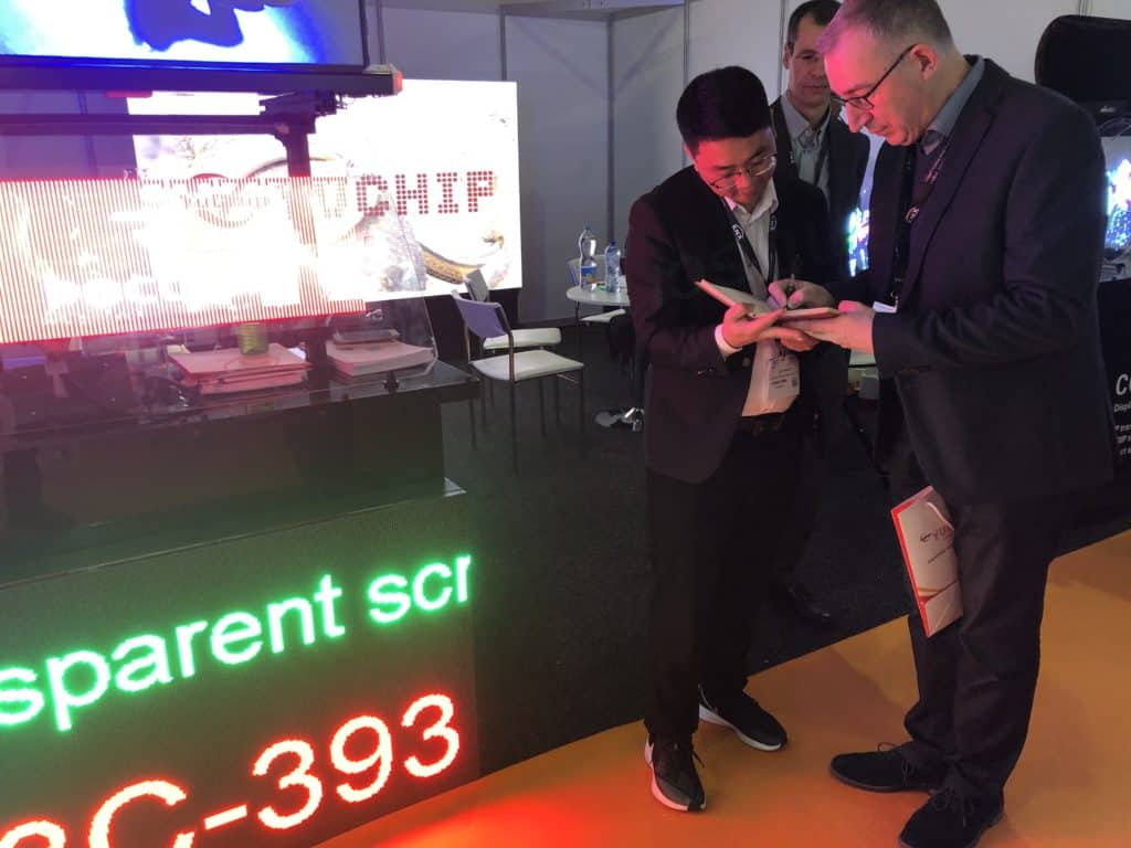 YUCHIP debuted on ISE 2020 and won the European market!5