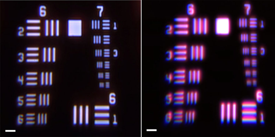 LED Display Chromatic Aberration