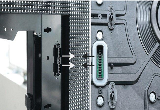 Hard connection design, support hot plug maintenance LED Perimeter Boards
