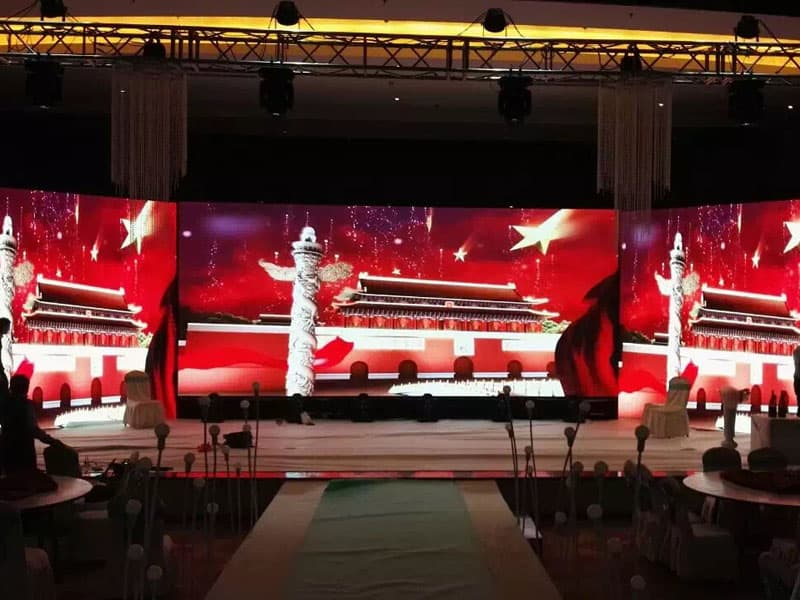 P4 SMD2121 Indoor Church LED Display In Nigeria