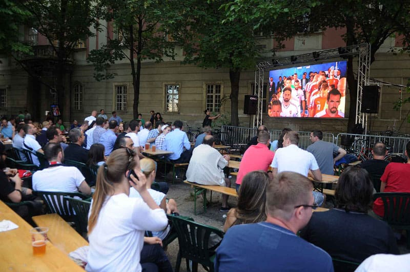 P6.25 Outdoor LED Display Rental In Budapest