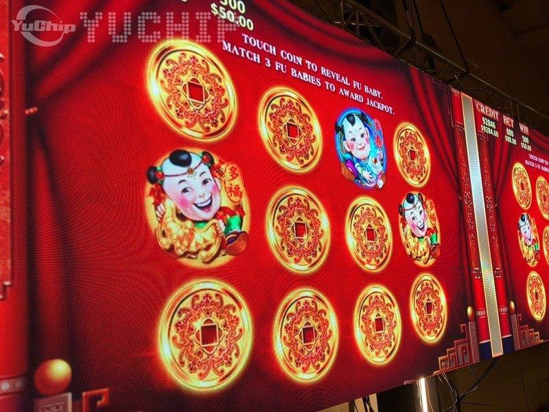 YUCHIP 42㎡ P2 LED Display Screen In Laos