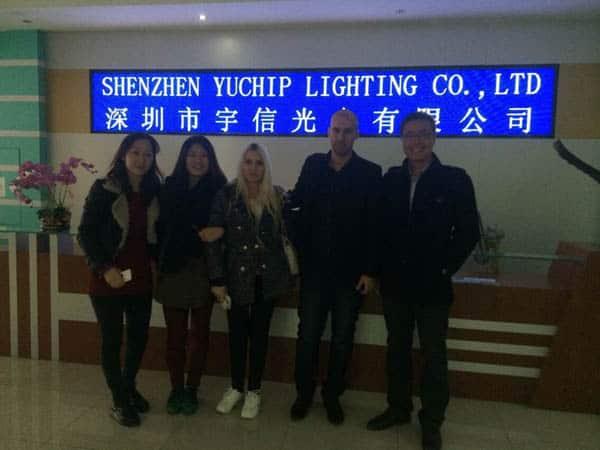 Israel-client-visit-yuchip