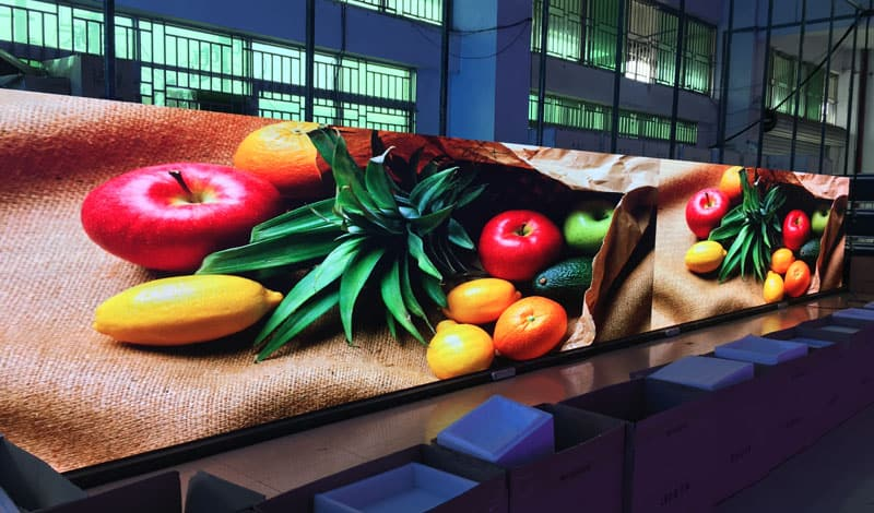 P6 indoor hd led display in YUCHIP manufacturer