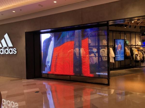 Digital Window Display Screens