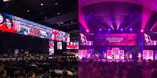 LED Screen for Church