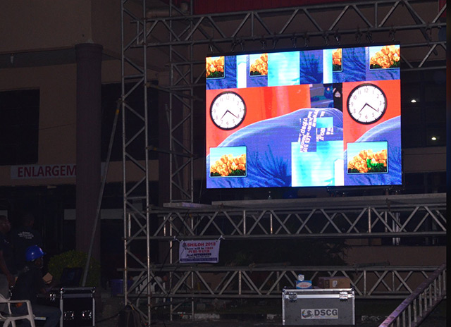 Large Video Screens for Churches