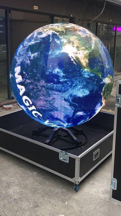 Spherical Display Screen