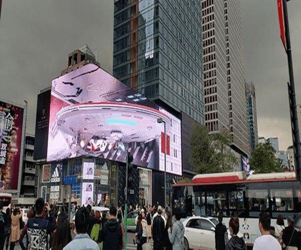 3D Effect LED Screen