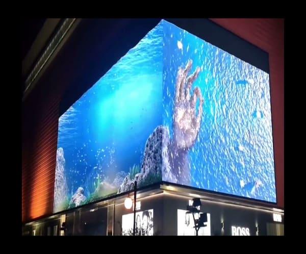 3D LED Screen