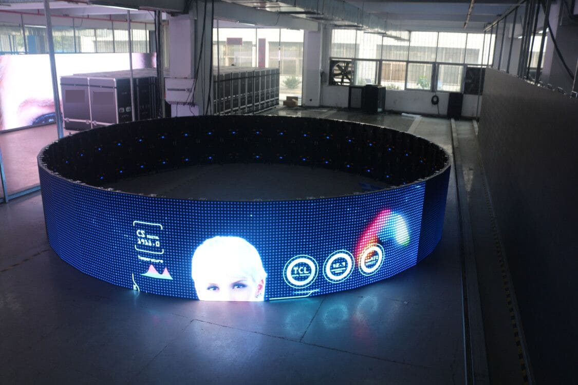 Curved LED Tiles