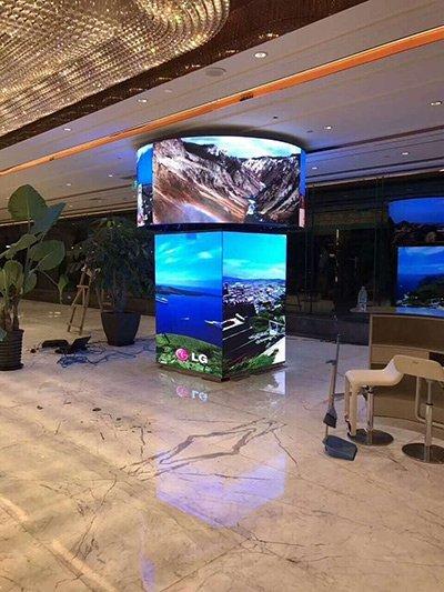 Flexible LED Display Screen Price