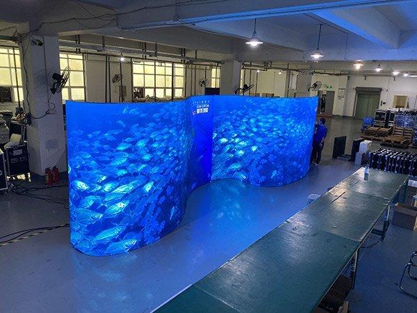 Flexible LED Screen Panel