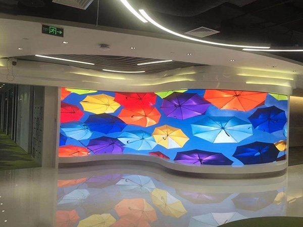 Flexible LED Screen Wall
