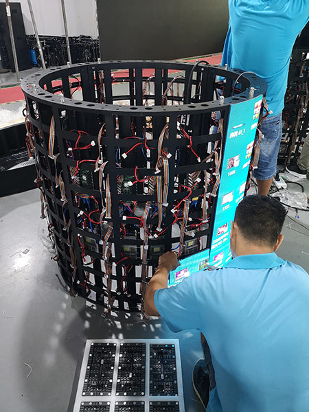 Flexible LED Screens for Sale