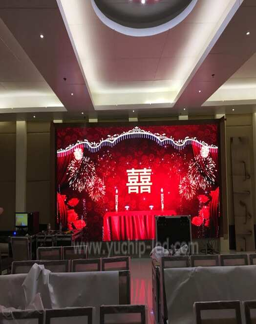 High Resolution LED Panel For Hotels