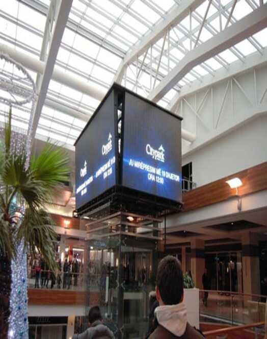High Resolution LED Panel For Shopping Malls