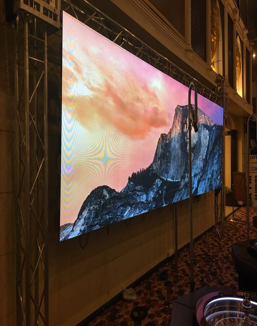 Hospitality LED Screen For Hotels And Casinos