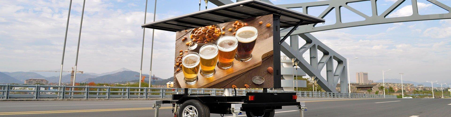 LED Advertising Trucks