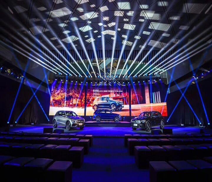 LED Backlit Trade Show Displays