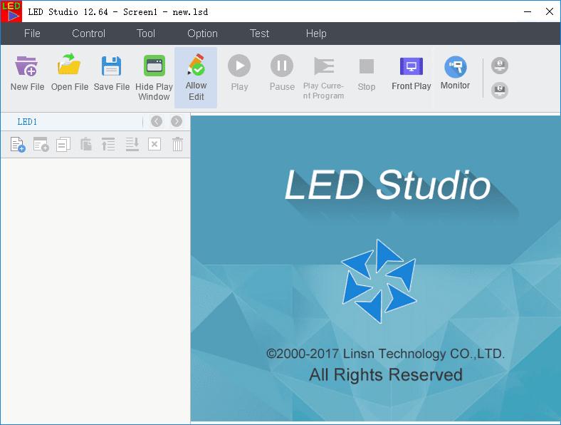 LED Studio Software