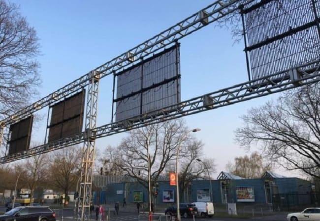 Mesh Curtain LED Display