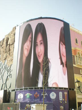 Outdoor Curved Screen