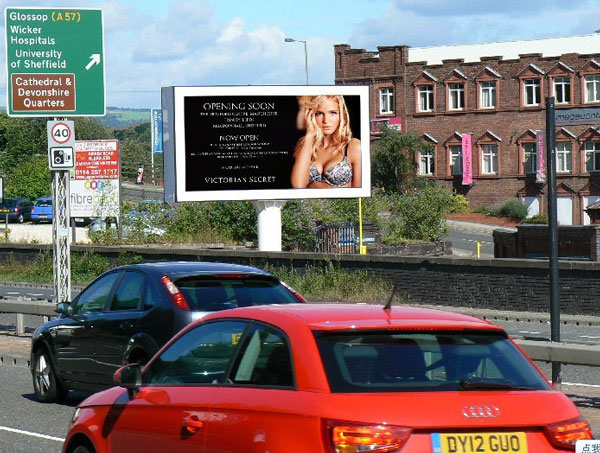 Outdoor LED Screen in Columbia